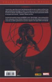 Verso de Daredevil (100% Marvel - 1999) -2a- Chemin de croix