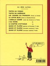 Verso de Tintin (Fac-similé N&B) -9PF- Le crabe aux pinces d'or