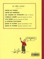 Verso de Tintin (Fac-similé N&B) -5PF- Le Lotus Bleu