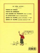 Verso de Tintin (Fac-similé N&B) -6PF- L'oreille cassée