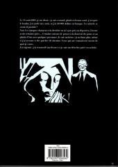 Verso de Alack Sinner -INT2- L'âge des désenchantements