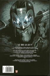 Verso de Judge Dredd (Soleil) -1- Heavy metal dredd