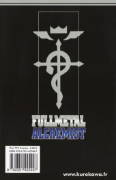 Verso de FullMetal Alchemist -24- Tome 24