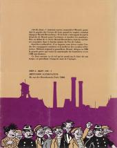 Verso de Benoit Broutchoux - Les aventures épatantes et véridiques de Benoit Broutchoux