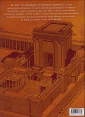 Verso de Le trésor du temple -3- Le rouleau d'argent