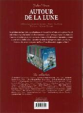 Verso de Les incontournables de la littérature en BD -28- Autour de la Lune