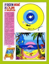 Verso de Animal parade (Oum le dauphin blanc) -1- Mensuel N°1