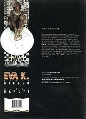Verso de Eva K. -3- Traquenard