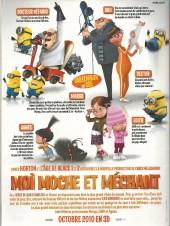 Verso de Picsou Magazine -463- Picsou magazine n°463