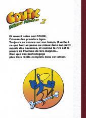 Verso de Couik -2- Tome 2