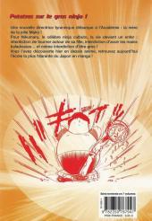 Verso de L'académie des Ninjas -6- Tome 6