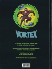 Verso de Vortex -2- Campbell, voyageur du temps - 2