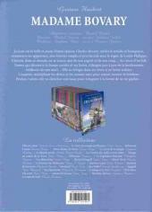 Verso de Les incontournables de la littérature en BD -29- Madame Bovary