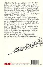 Verso de Cabu (voyages au bout du crayon) - Plutôt russe que mort !
