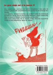 Verso de L'académie des Ninjas -7- Tome 7