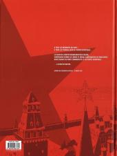Verso de La mort de Staline - Une histoire vraie... soviétique -1- Agonie