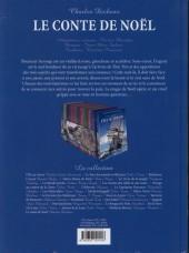 Verso de Les incontournables de la littérature en BD -30- Le Conte de Noël
