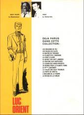 Verso de Luc Orient -7b- Le cratère aux sortilèges