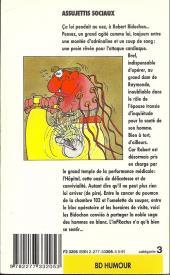 Verso de Les bidochon -7Poch- Les Bidochon, assujettis sociaux