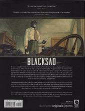 Verso de Blacksad (en anglais) -1- Blacksad
