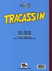 Verso de Tracassin -INT4- Tracassin - intégrale 4 : 1966-1968