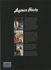Verso de Agence Hardy -INT1- Édition intégrale - Volume 1