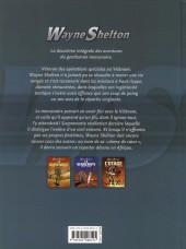 Verso de Wayne Shelton -INT2- Intégrale Tomes 4 à 6