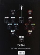 Verso de Destins -6- Déshonneurs