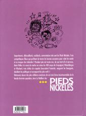 Verso de Pieds Nickelés (Le meilleur des) -8- Ramdam, magouilles et castagnes... les Pieds Nickelés mettent les bouts !