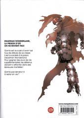 Verso de Deadman Wonderland -1- Tome 1