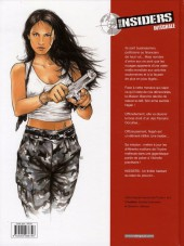 Verso de Insiders -INT1- Intégrale volume 1