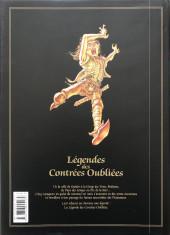 Verso de Légendes des contrées oubliées -INTc- Intégrale (Nouvelle édition)