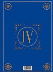 Verso de Jules Verne - Voyages extraordinaires -10- L'école des robinsons