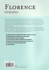 Verso de (AUT) De Crécy -6- Florence - Itinéraires