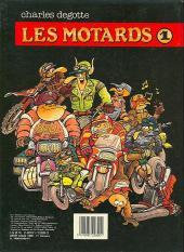 Verso de Les motards - Tome 1