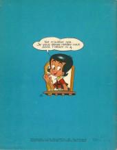 Verso de Nick et Panchito -3- Le Collier du gouverneur