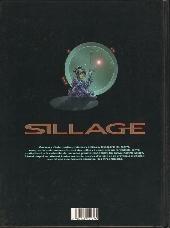Verso de Sillage -1- A feu et à cendres