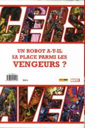 Verso de Avengers (The) (Marvel Deluxe) - Les plus grands héros de la terre vol. 2