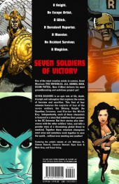 Verso de Seven Soldiers of Victory (2005) -1- Volume One