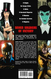 Verso de Seven Soldiers of Victory (2005) -2- Volume Two