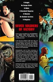 Verso de Seven Soldiers of Victory (2005) -3- Volume Three