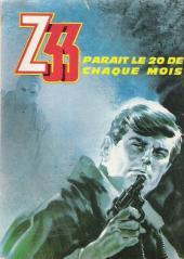 Verso de Z33 agent secret -3- J'ai doublé Himmler