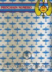 Verso de Battler Britton (Imperia) -Rec14- Collection Reliée N°14 (du n°105 au n°112)
