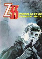 Verso de Z33 agent secret -1- Le carnaval des espions