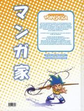 Verso de Chroniques d'un mangaka -1- Tome 1