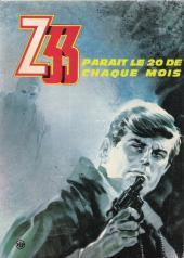 Verso de Z33 agent secret -30- Espions, un pas en avant