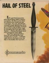 Verso de Commando (1961) -1327- Hail of steel