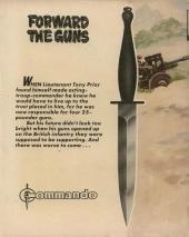 Verso de Commando (1961) -1330- Forward the guns