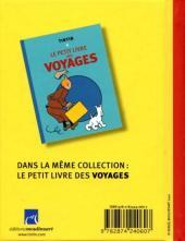Verso de Tintin - Divers -PL1a- Le petit livre des dangers