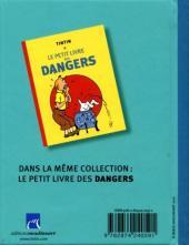 Verso de Tintin - Divers -PL2a- Le petit livre des voyages